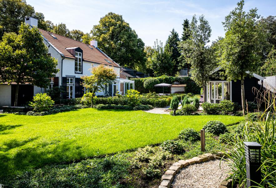 Een prachtige tuin, aangelegd door BTA Groen