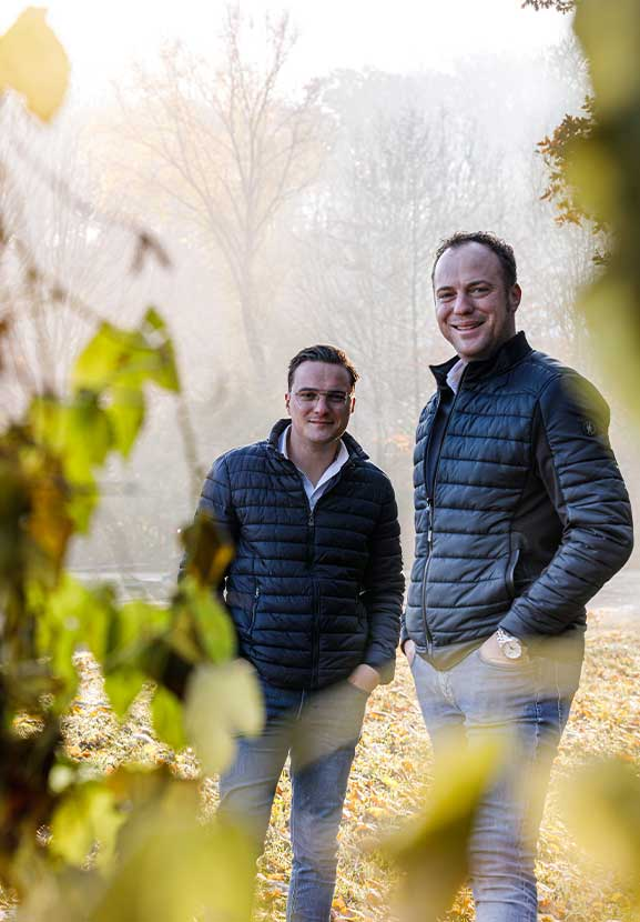 Roel en Roy, 2 broers, eigenaars van BTA Groen
