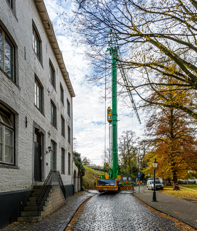 Werken in de historische kern van Maastricht - BTA Groen